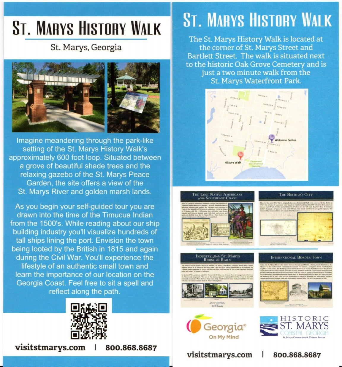 St. Marys History Walk Brochure
