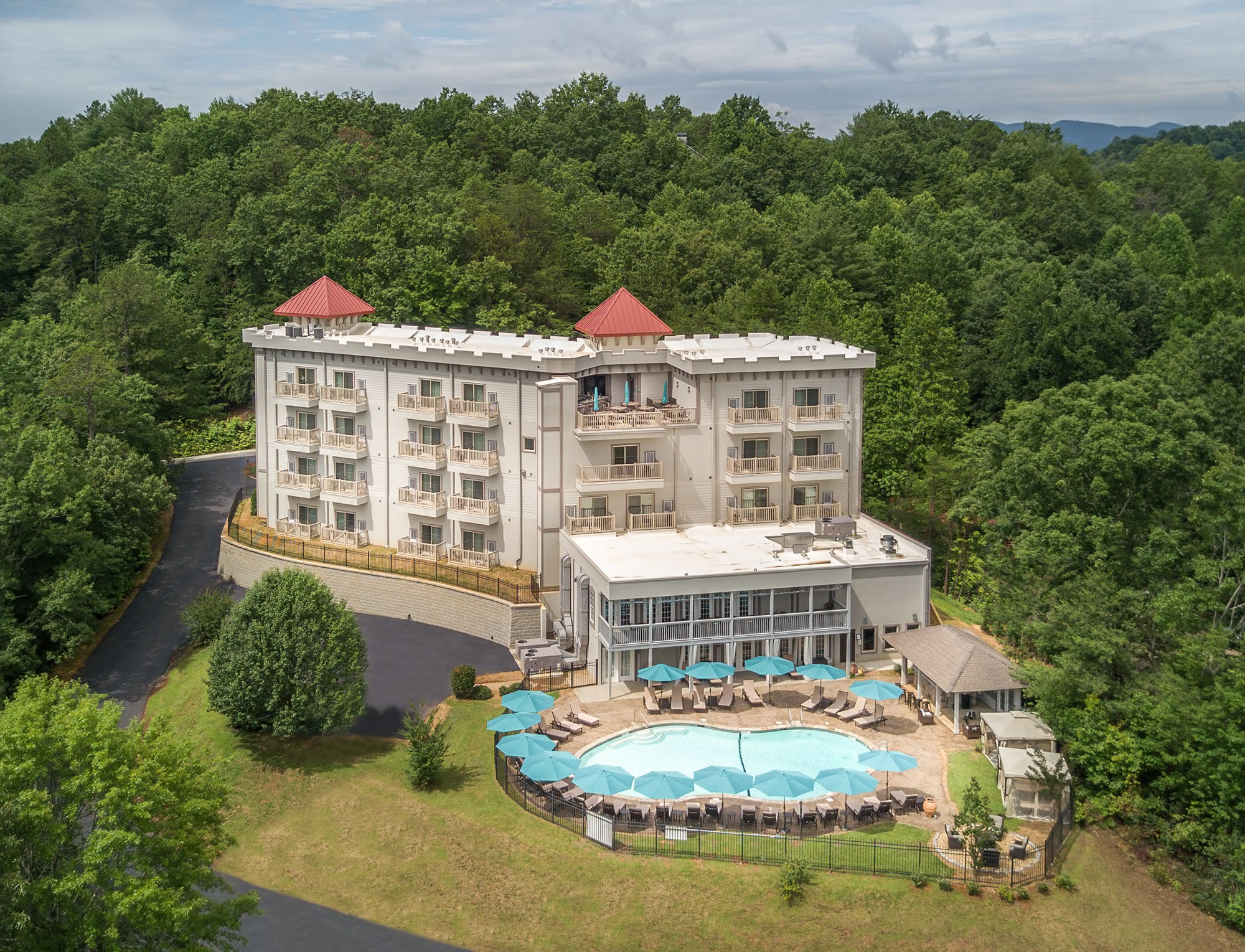 Valhalla Resort Hotel in Helen