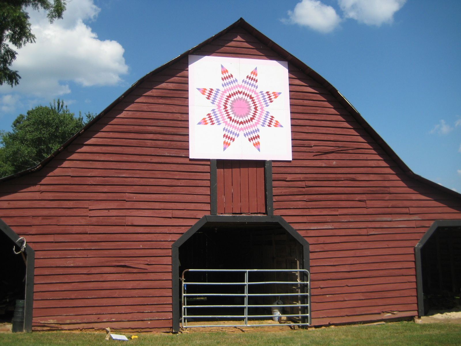 Southern Quilt Trail - 1920s Barn
