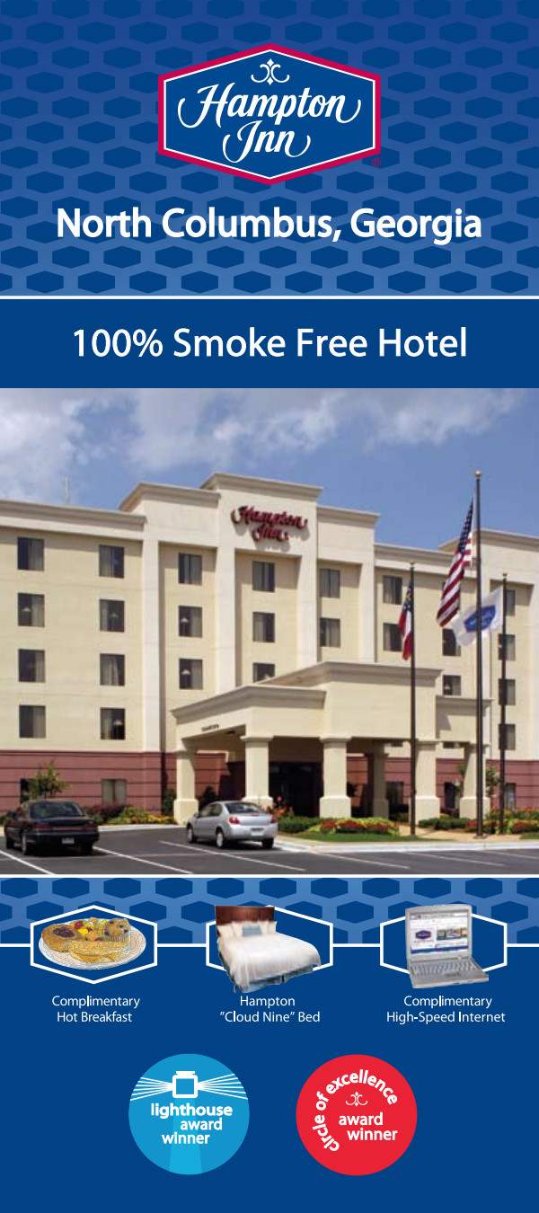 Stay with us at Hampton Inn Columbus North