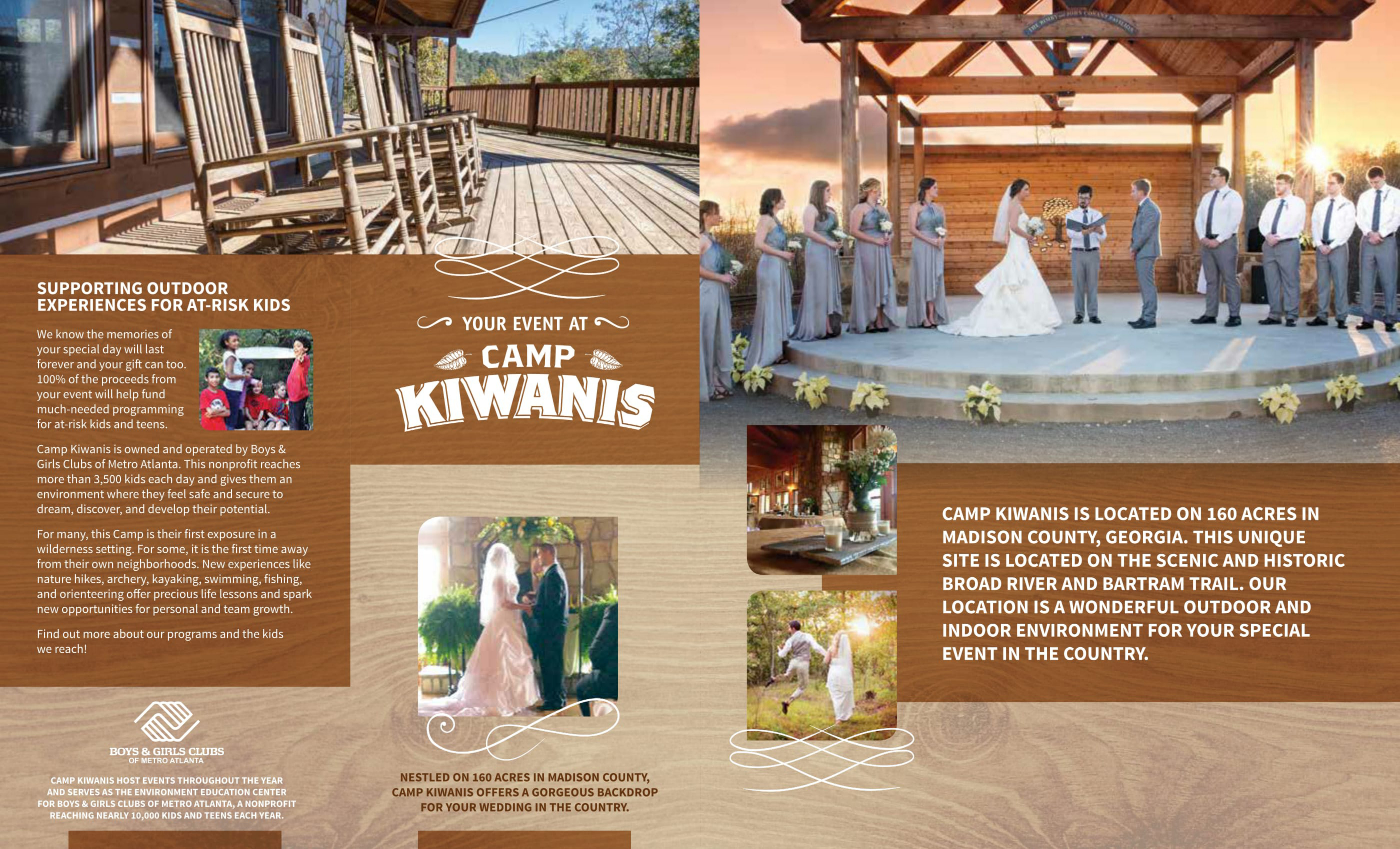 Camp Kiwanis Wedding & Events