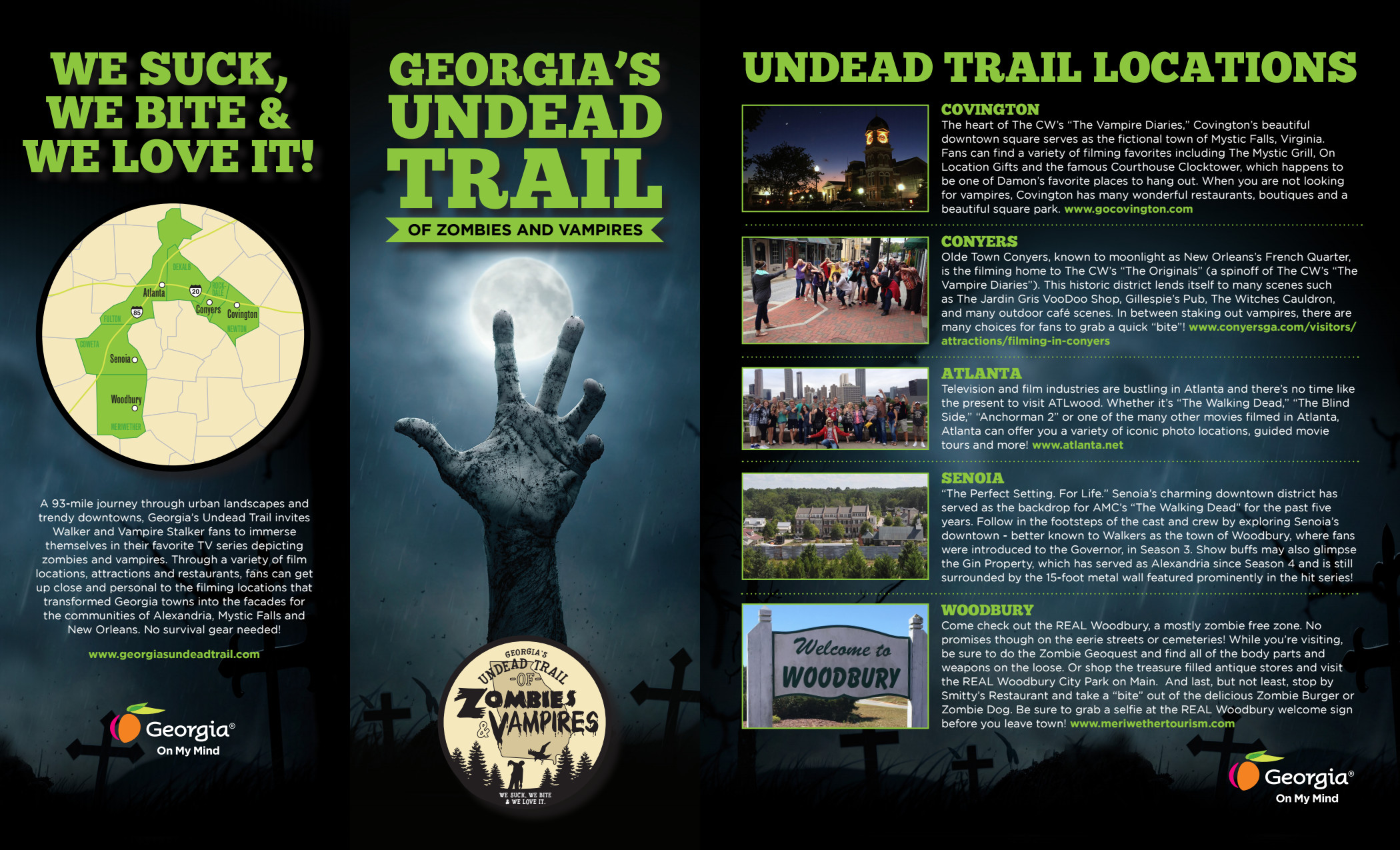 Georgia's Undead Trail of Zombies and Vampires