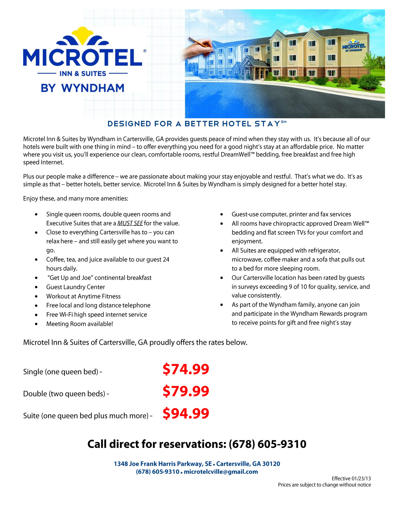Microtel Inn & Suites by Wyndham - Cartersville