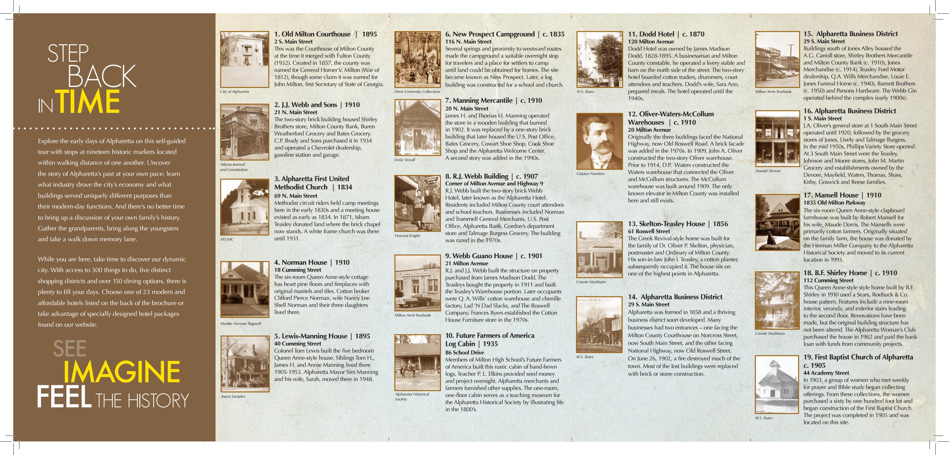 Alpharetta History Walk | Official Georgia Tourism & Travel