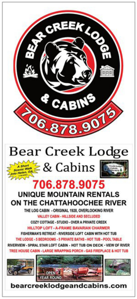 BEAR CREEK LODGE AND CABINS BROCHURE