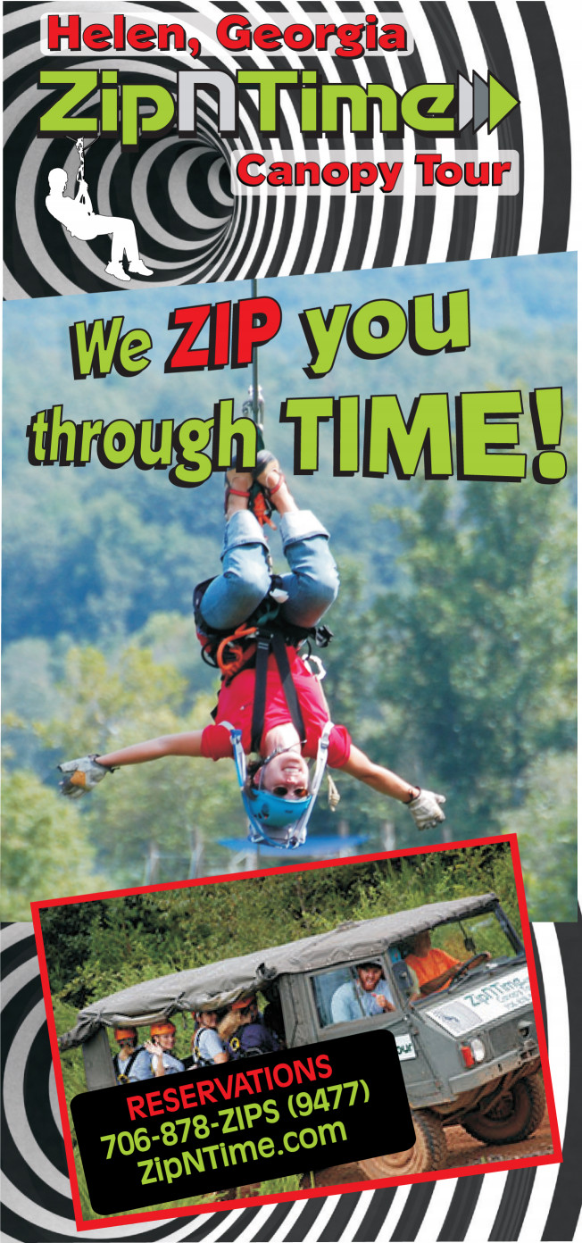 ZIpNTime Ziplines and Canopy Tours at Nacoochee Outdoor Adventur