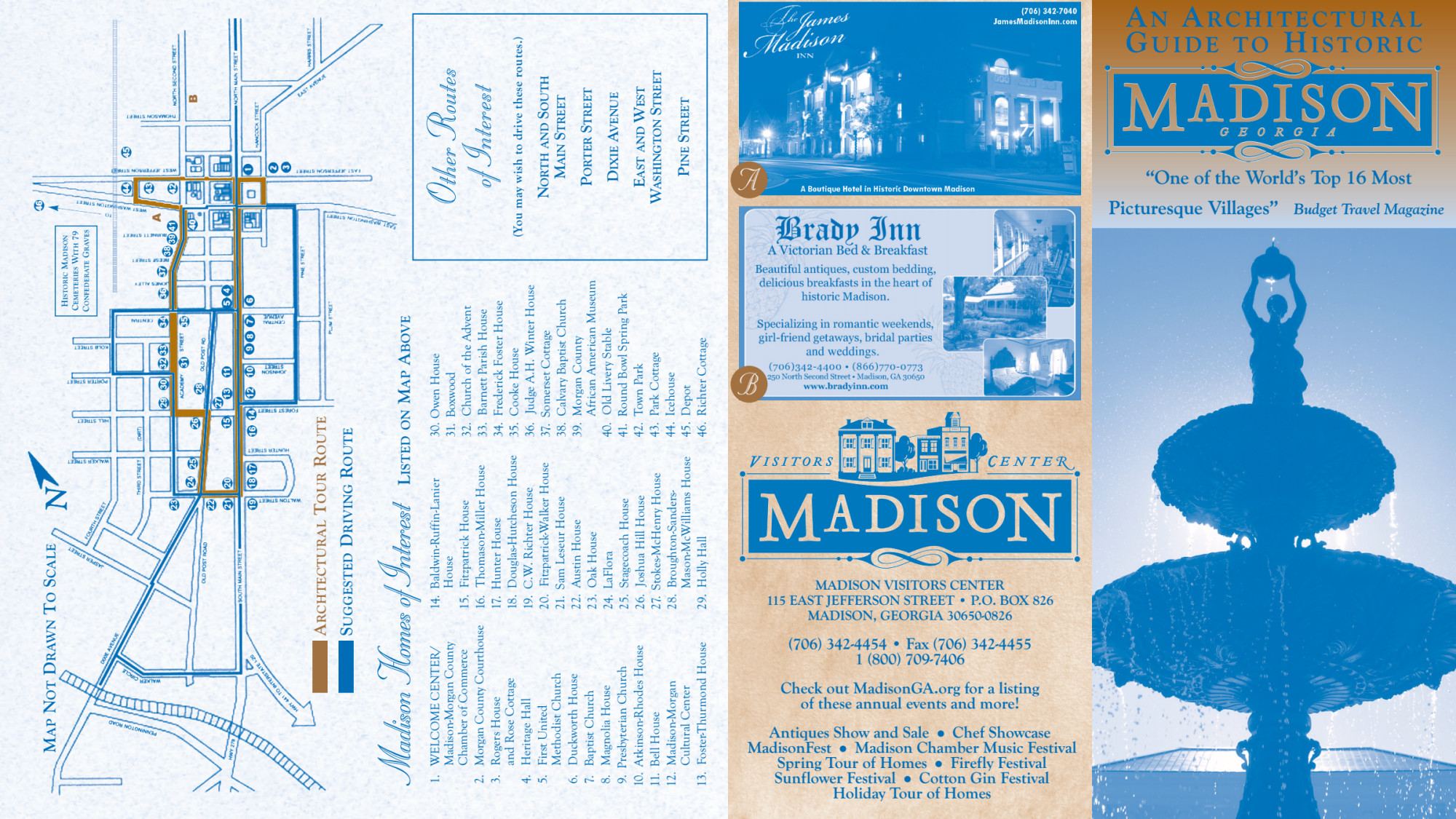 Madison Self-Guided Architectural Walking Tour
