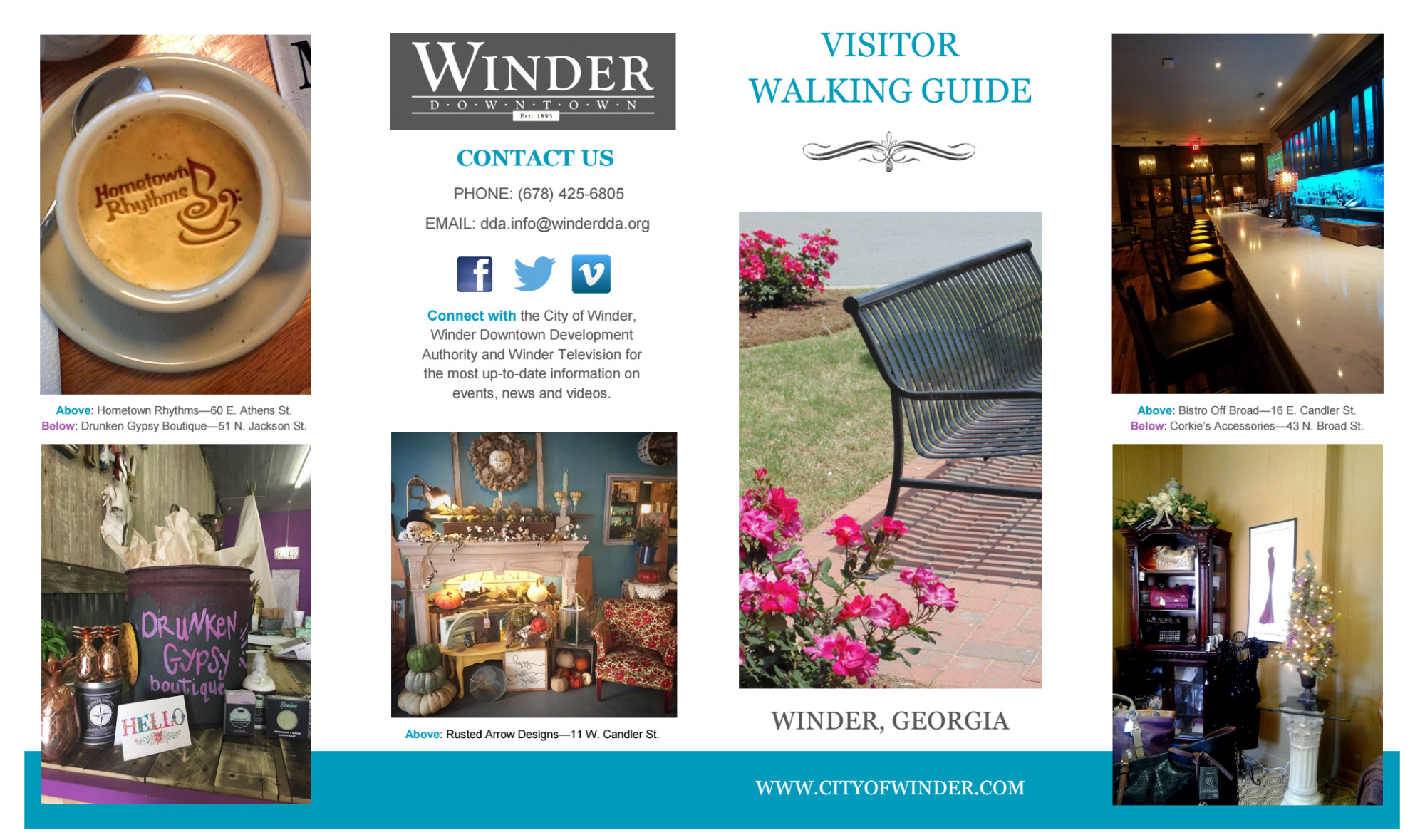 Winder: Visitor Walking Guide