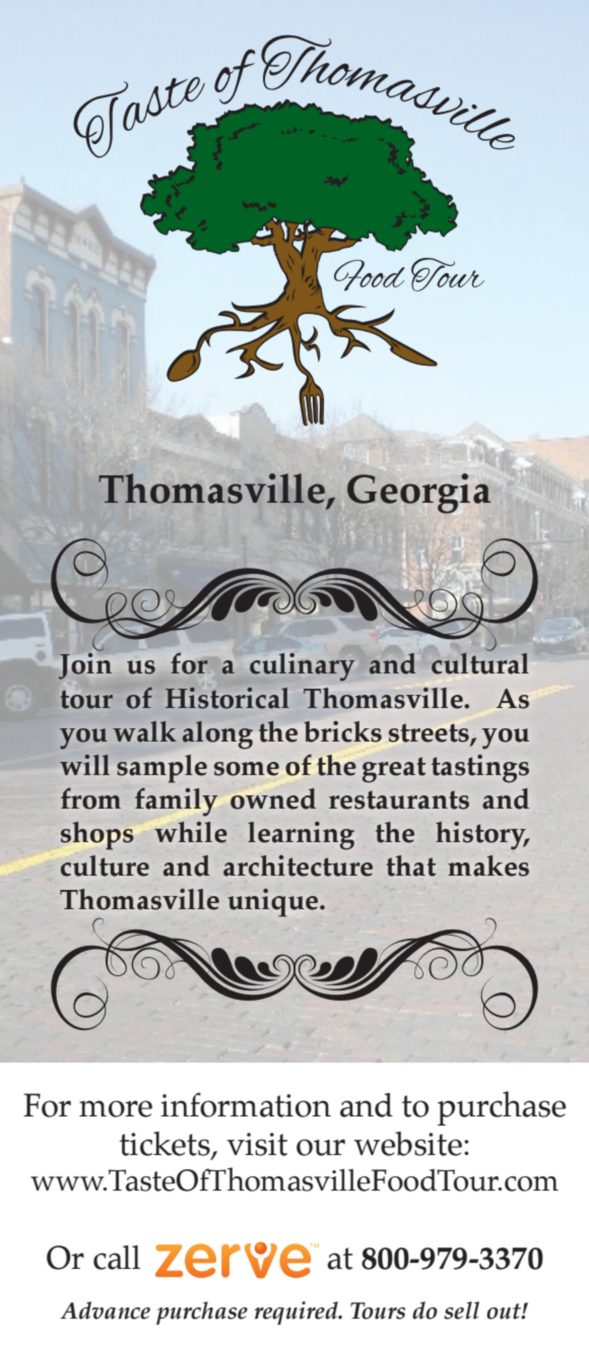 Taste of Thomasville Food Tour