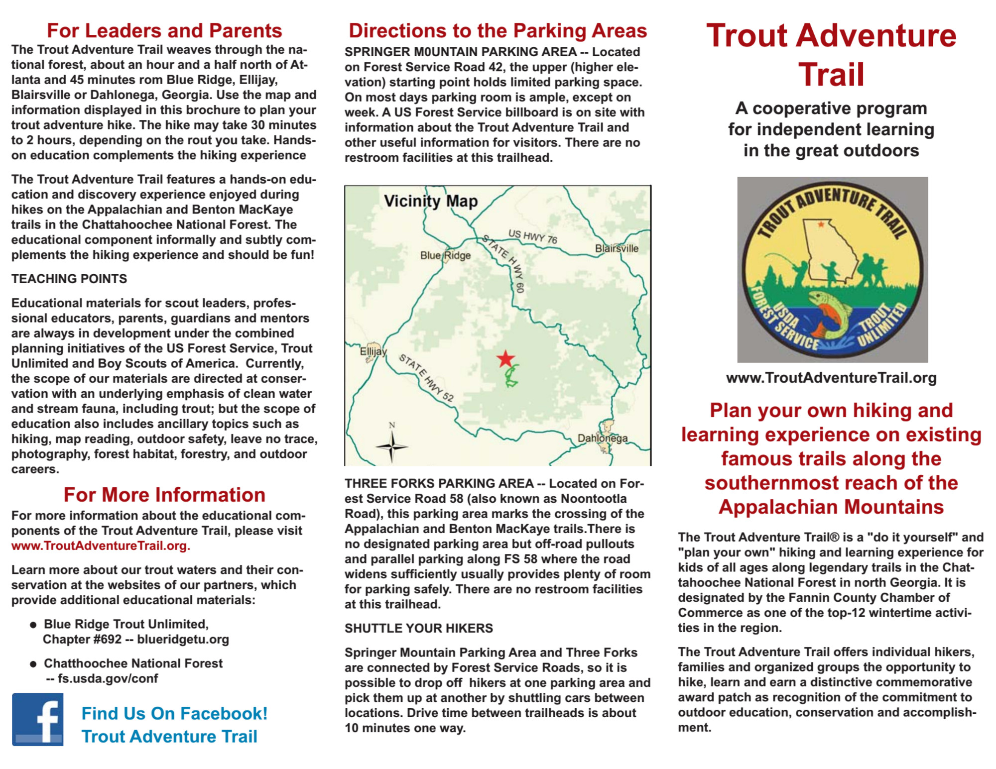 Trout Adventure Trail