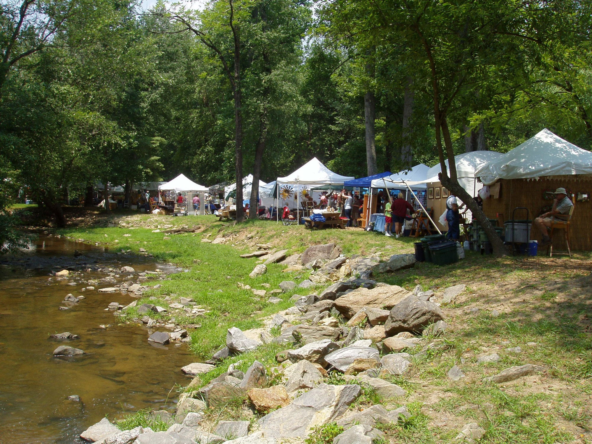 Butternut Creek Festival in Blairsville, Georgia