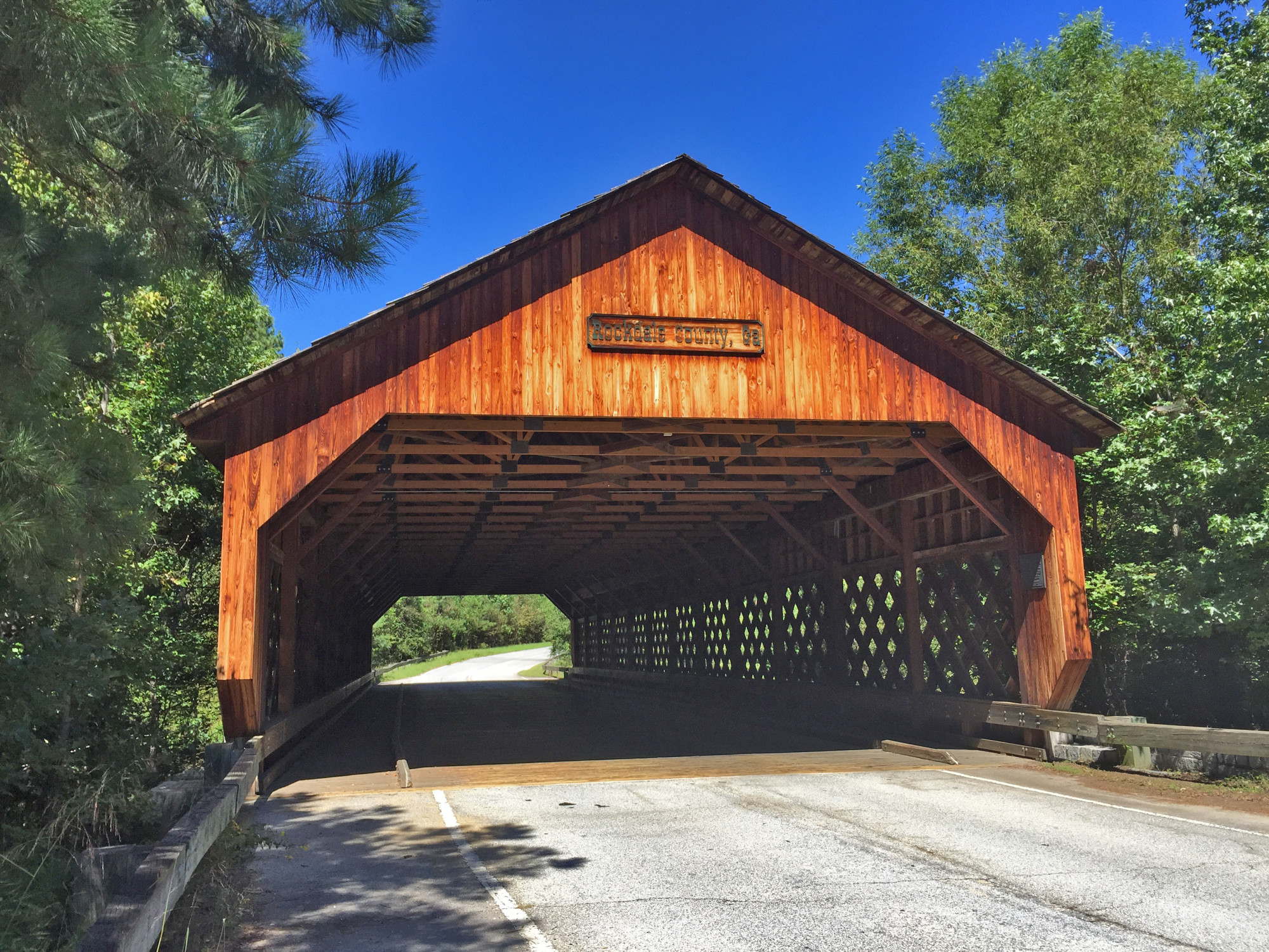 Haralson Mill Covered Wooden Bridge Official Georgia