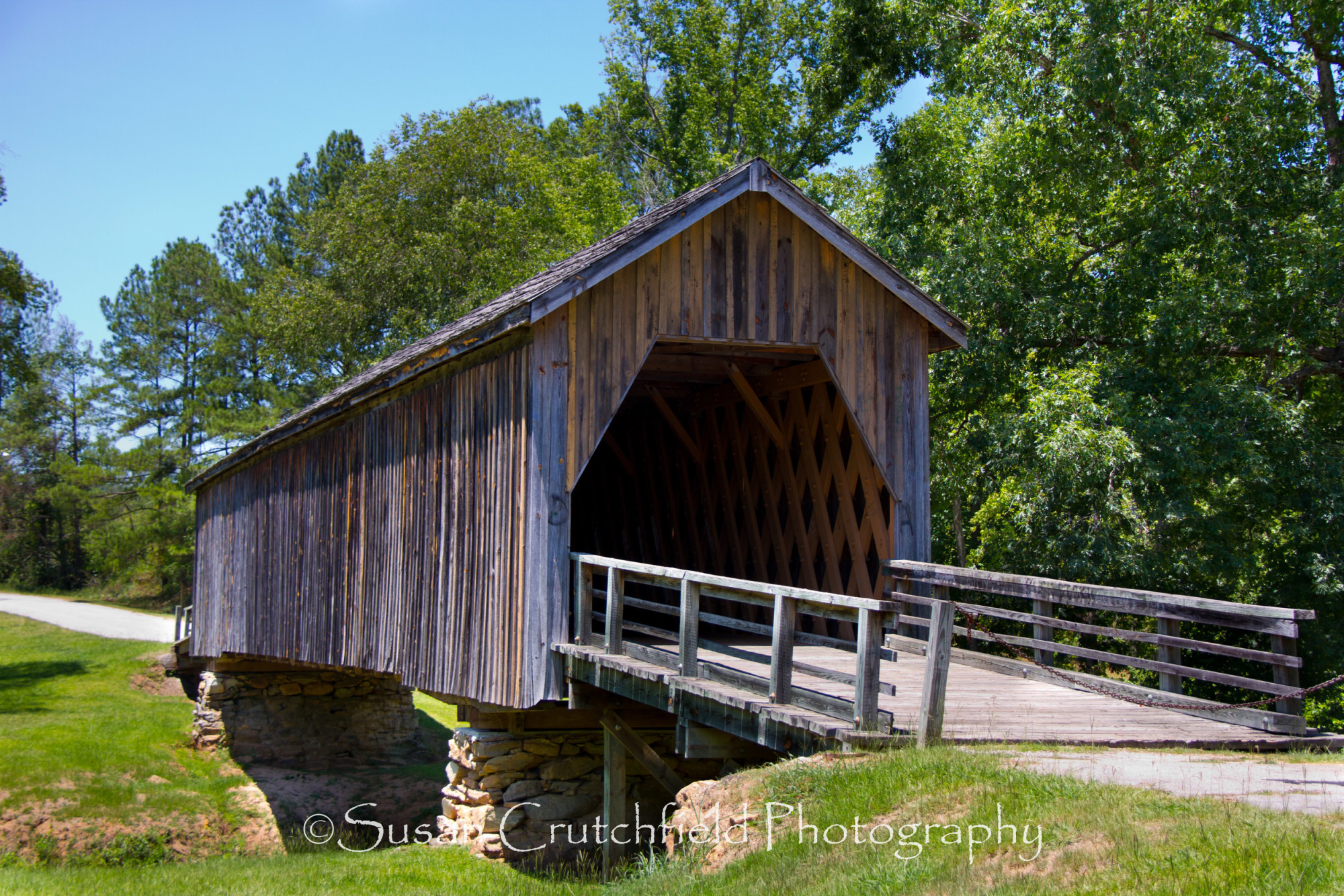 Auchumpkee Creek Covered Bridge Official Georgia Tourism