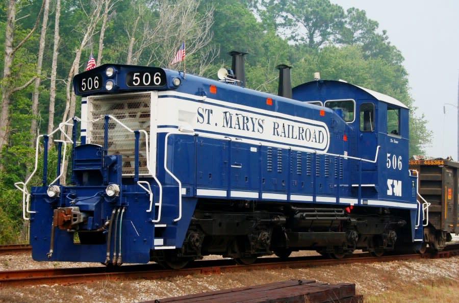 St Marys Express Train Rides Official Georgia Tourism