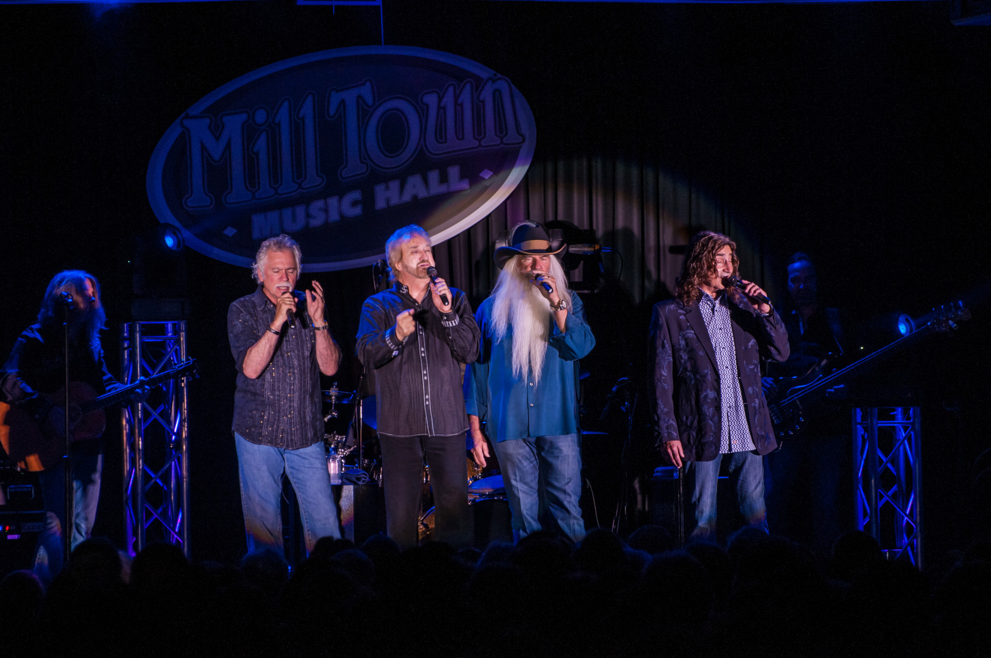 The Oak Ridge Boys at Mill Town Music Hall in Bremen, Georgia