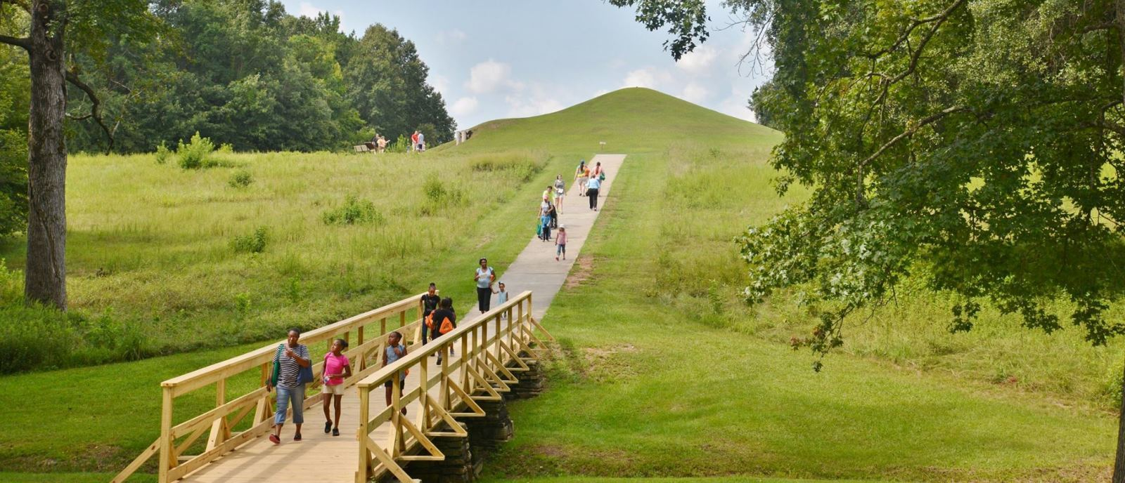 Ocmulgee Mounds National Historical Park in Macon, Georgia