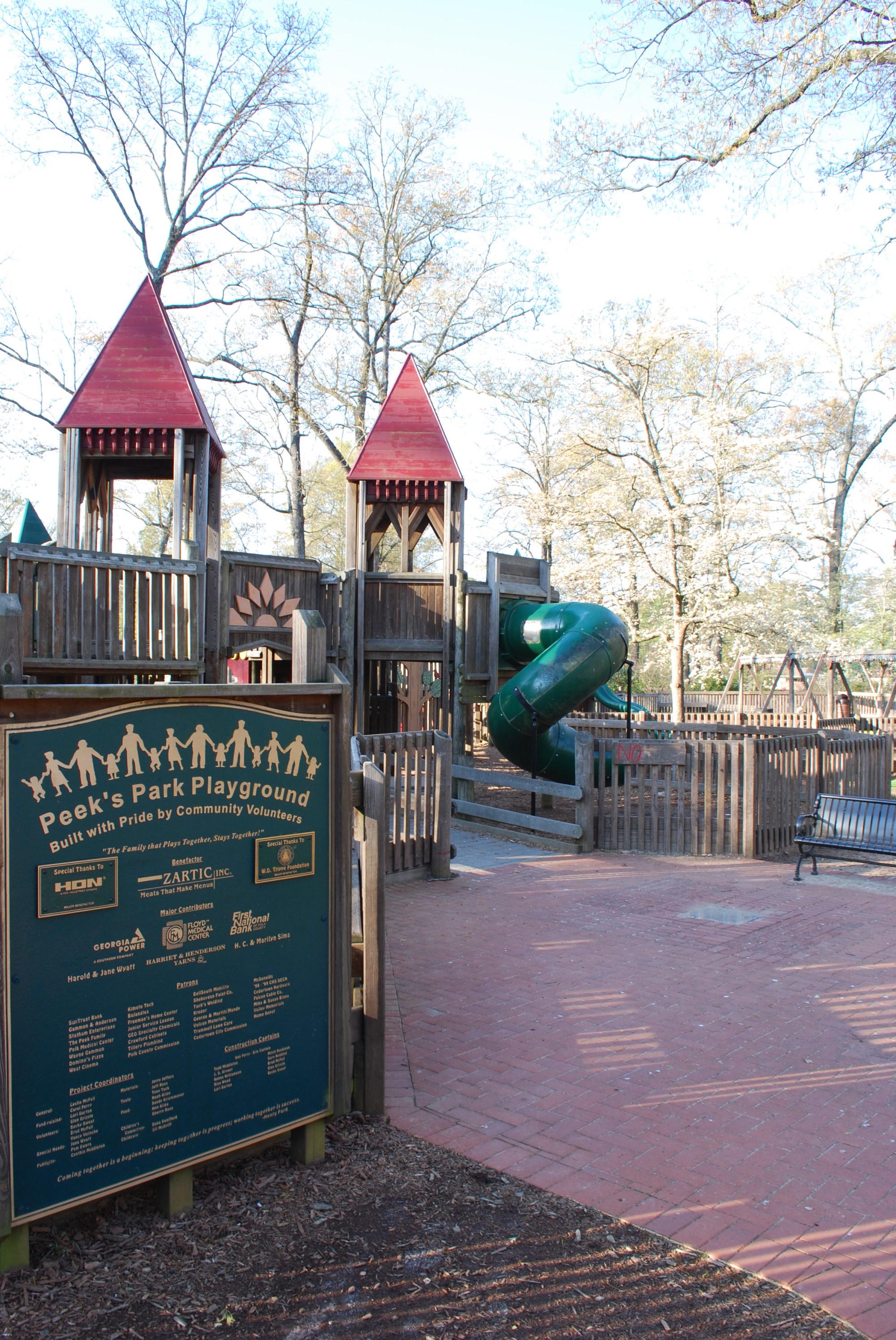 Peek Park- Cedartown | Official Georgia Tourism & Travel ...
