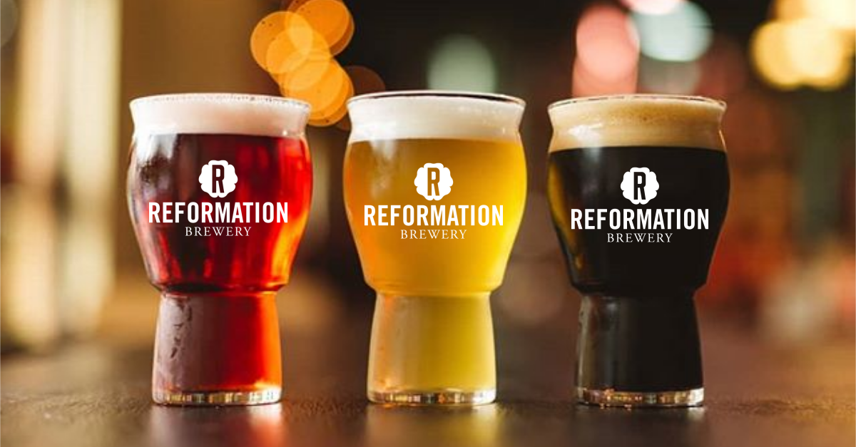 Beers at Reformation Brewery in Woodstock and Canton, Georgia