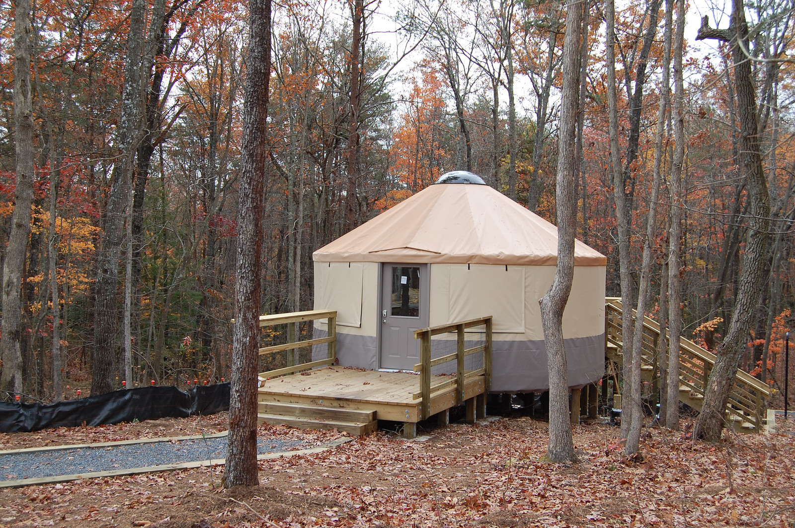 Yurt at Cloudland Canyon State Park