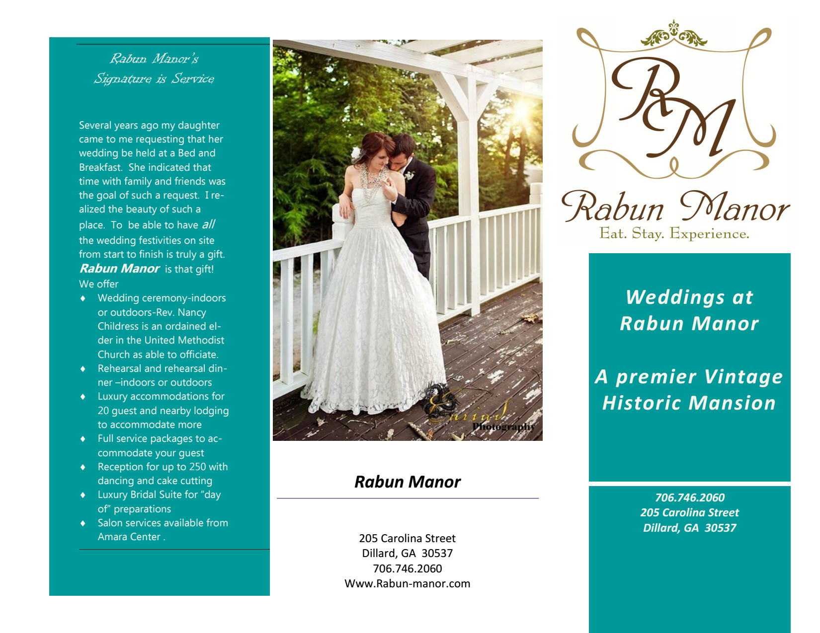 Rabun Manor Weddings