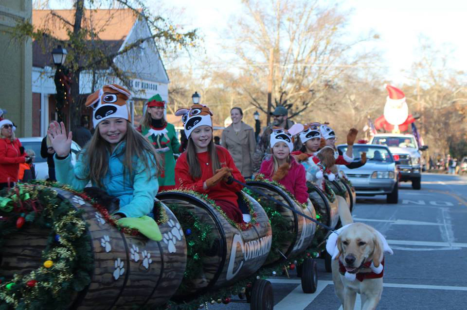 Madison, Georgia, Holiday Parade