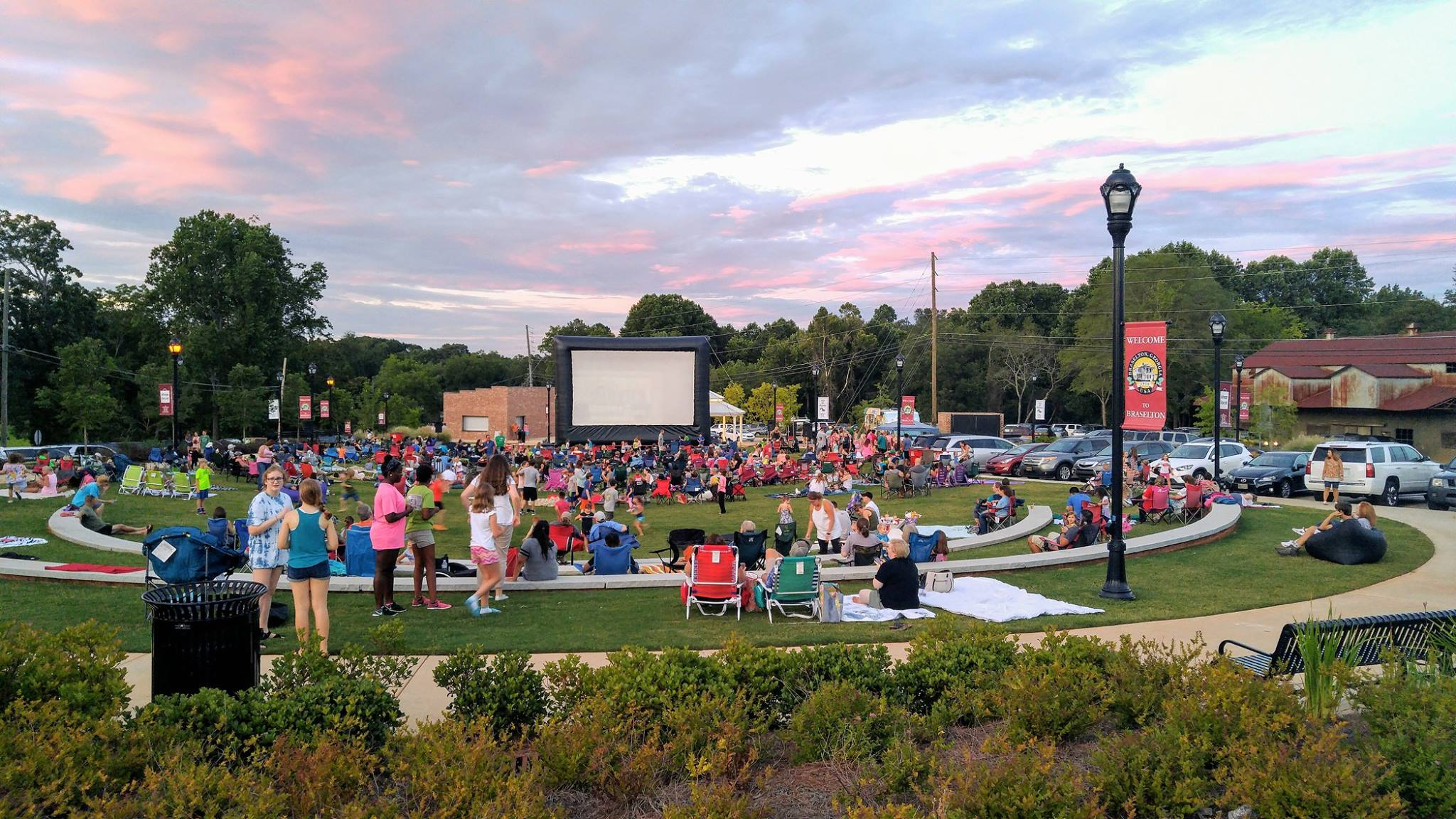 Movies Under the Stars in Braselton, Georgia