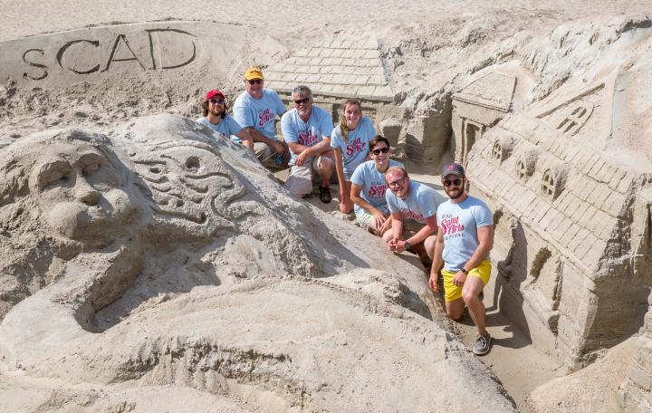 SCAD Sand Arts Festival on Tybee Island, Georgia