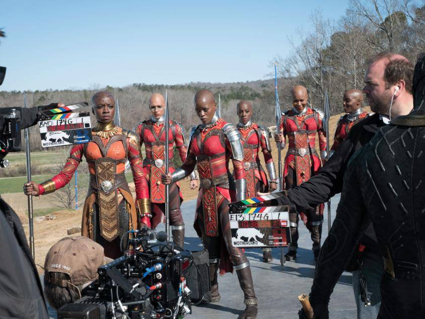 Black Panther on location in Georgia