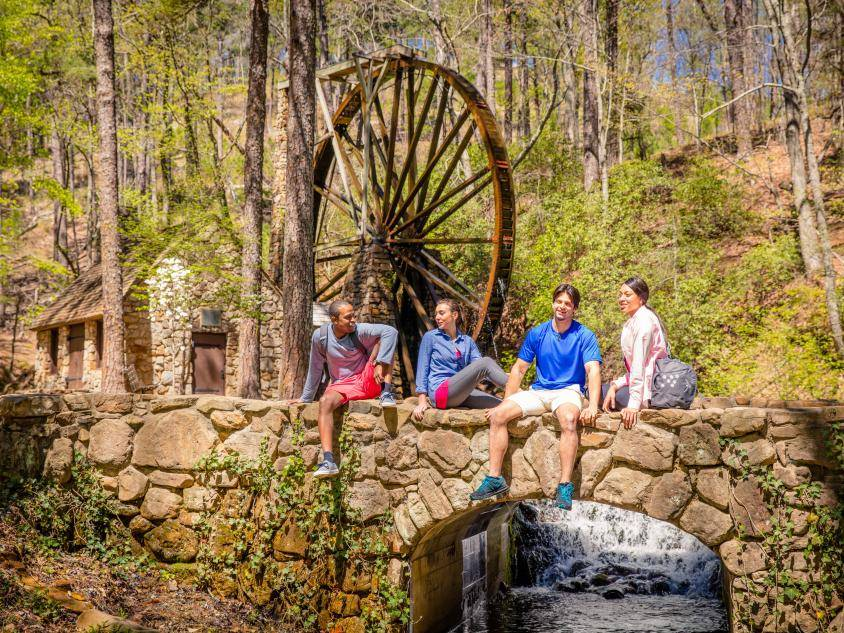 The Old Mill at Berry College in Rome, Georgia