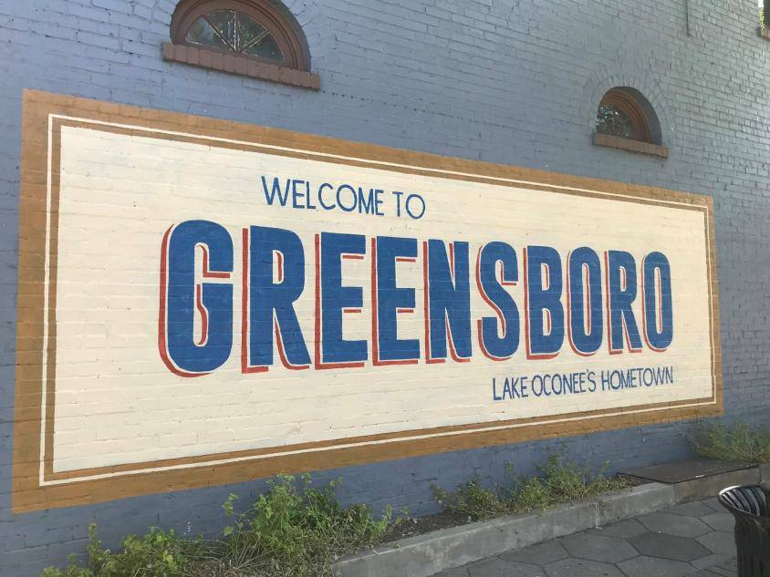 Welcome to Greensboro mural