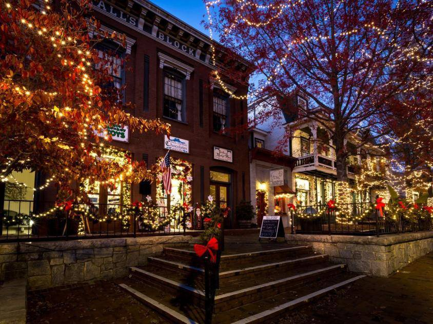 Christmas in Dahlonega, Georgia