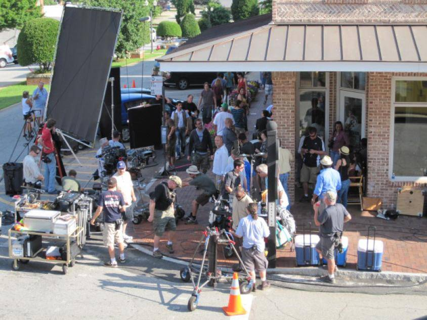 Drop Dead Diva filming in Senoia