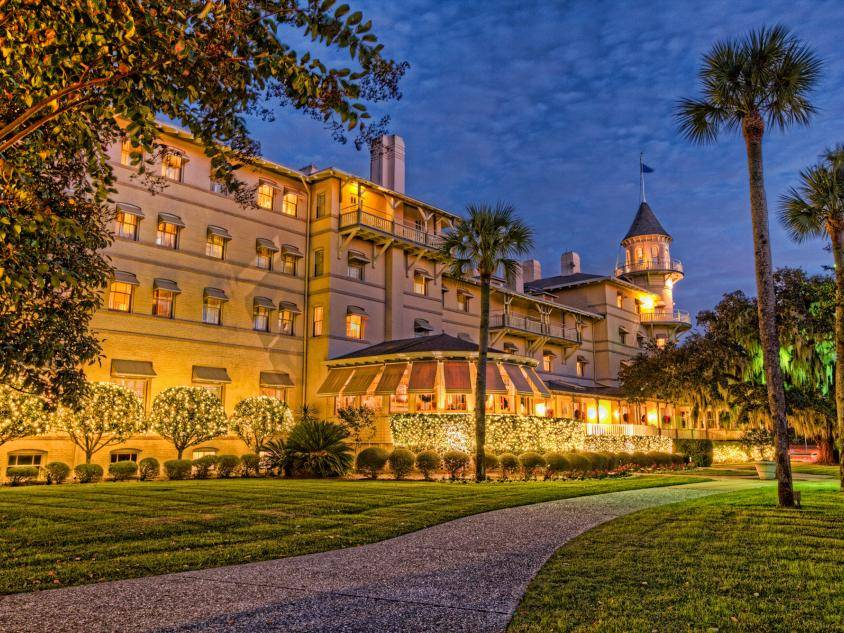 Jekyll Island Club Resort Holiday Lights