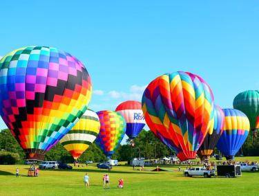 Hot Air Balloons at Callaway Resort & Gardens