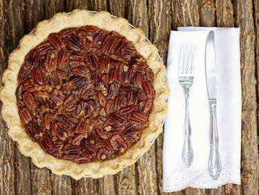 Pecan pie from Southern Baked Pie Company in Gainesville, Georgia