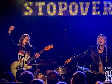 Larkin Poe at Savannah Stopover. Photo by Geoff L. Johnson