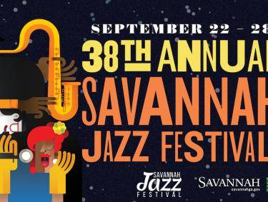 Savannah Jazz Fest graphic