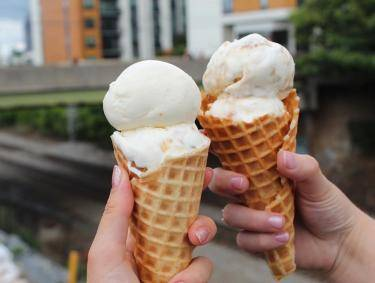 Jeni's Splendid Ice Creams in Atlanta. Photo by Syd, @snackswithsyd