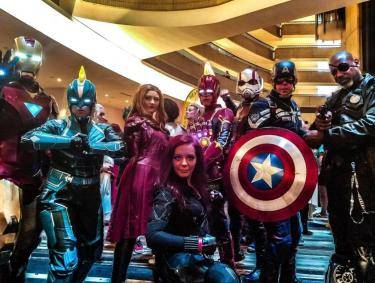 Dragon Con cosplayers in Atlanta