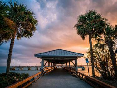 St. Simons Island Pier in the Golden Isles
