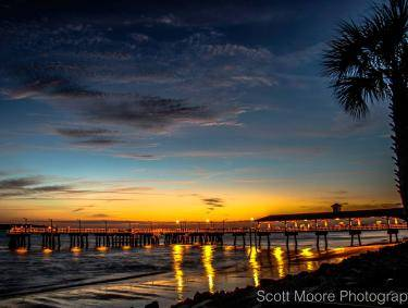 St. Simons Island Pier. Photo by Scott Moore, submitted via Facebook