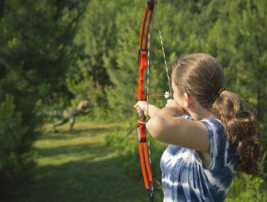 3-D Archery Range at Panola Mountain State Park