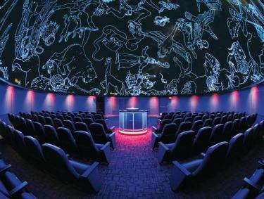 Mark Smith Planetarium in Macon, Georgia