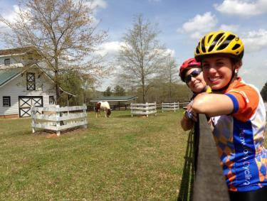 Antebellum Trail Bicyclists