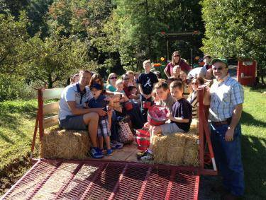 Apple Picking at Red Apple Barn