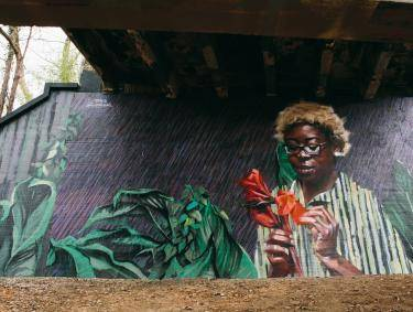 Art on the Atlanta BeltLine by Addison Karl