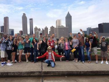 Atlanta Movie Tours at Jackson Street Bridge