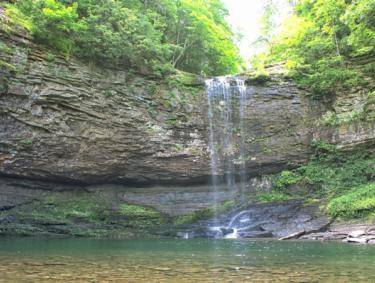 Waterfall at Cloudland Canyon
