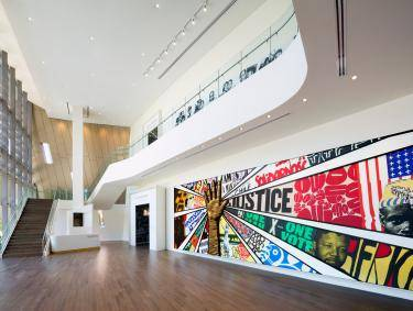Center for Civil and Human Rights in Atlanta, Georgia