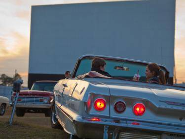 Drive-In Movie in Jesup, Georgia
